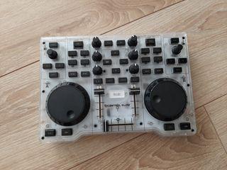 mesa de mezclas DJ glow