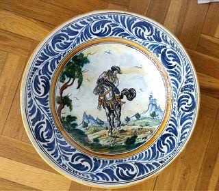 plato decorativo antiguo
