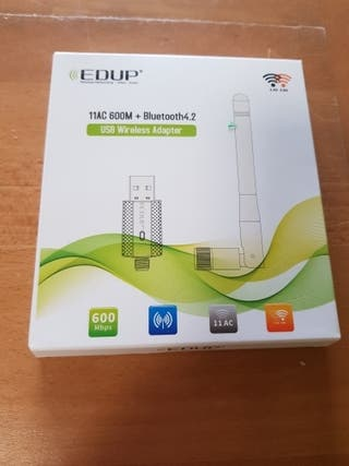 Adaptador Wifi y bluetooth USB