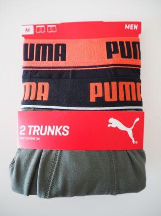 Puma. Pack 2 bóxers. Talla M