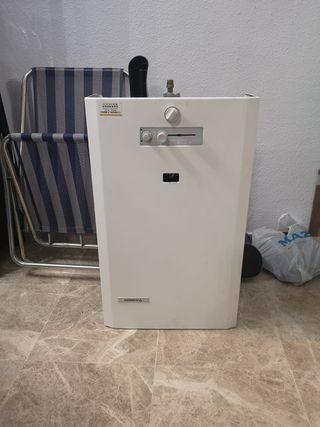 Termo calentador de agua de gas natural