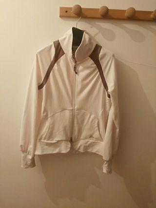 chaqueta adidas blanca talla S