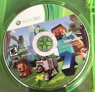 Xbox 360. Minecraft