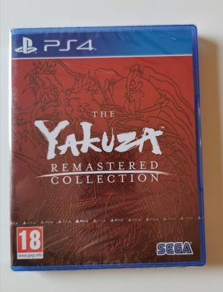 Yakuza Remastered Collection Precintado PS4