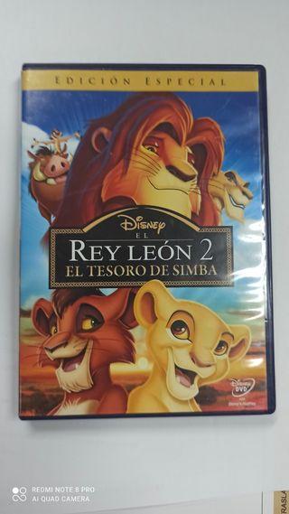 dvd El rey León 2 muy buen Estado