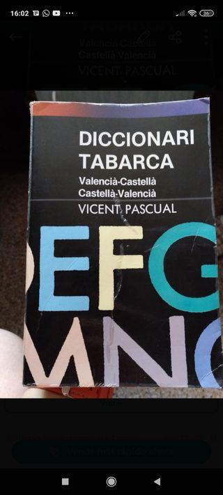 Diccionario de valenciano-castellano