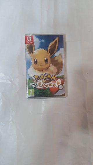 Pokemon Let's go Eevee Nintendo Switch nuevo