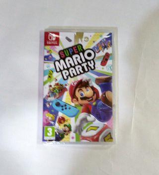 Super Mario party Nintendo Switch nuevo precintado