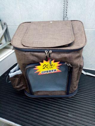 mochila para animales