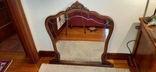 espejo de tocador Vintage