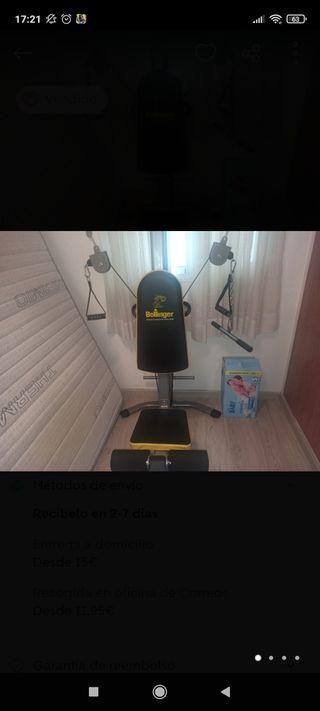 Máquina de musculación guiada Bollinger