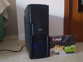 ORDENADOR AMD A4 8GB/820GB/GT1030 2GB OC