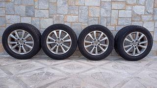 """Llantas 18"""" originales VW Touareg con neumáticos"""