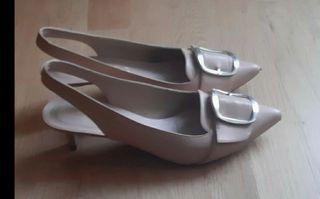 zapatos Unisa tacón pequeño