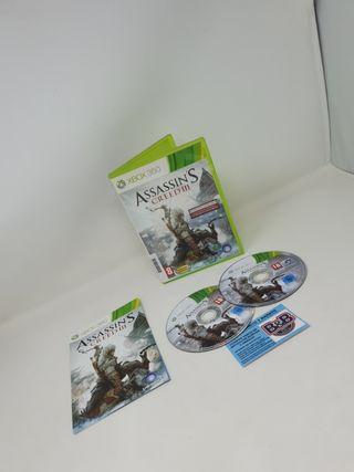ASSASSINS CREED CREED 3 XBOX 360