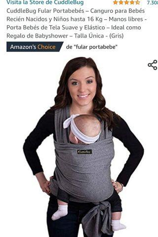 Fular porta bebé cuddlebug