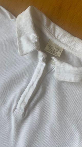 Polo blanco Zara girl