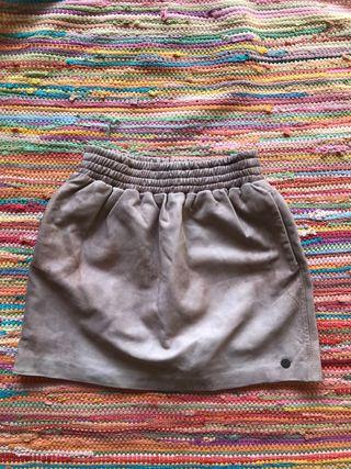 Falda de piel Pepe Jeans