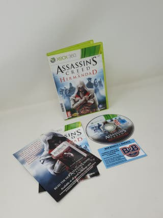 ASSASSINS CREED LA HERMANDAD XBOX 360