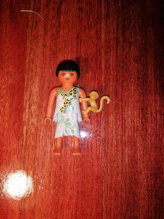 chica jungla playmobil