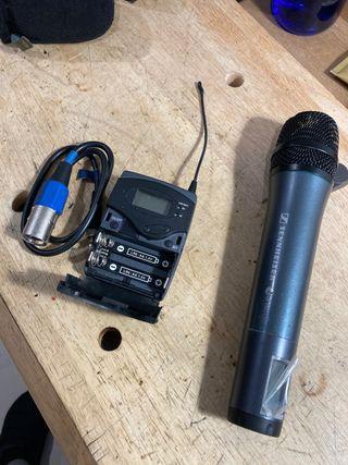 Micrófono de mano inalámbrico ew100