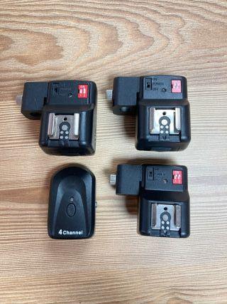 Disparadores remoto por radio para Canon