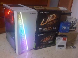 ORDENADOR GAMING I3 10100F 16GB/M.2 500gb/GTX1050T