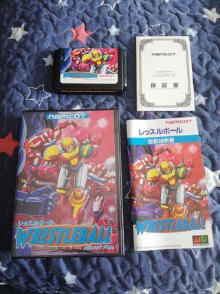 Mega Drive Wrestleball Completo JAP