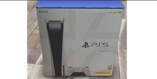 Playstation 5 con lector bluray