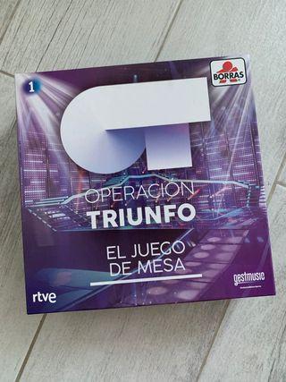 Juego Operación Triunfo
