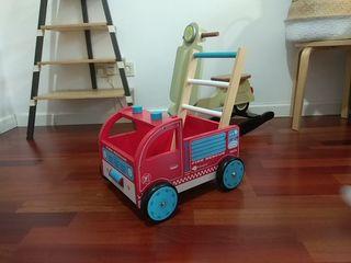 Andador camión bomberos