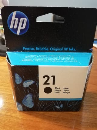 Cartucho tinta HP 21 black