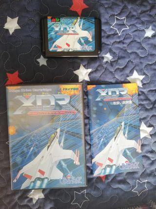 Mega Drive XDR Completo JAP