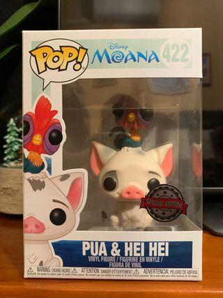 Funko Pop! #422 Pua & Hei Hei. Vaiana. Disney