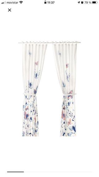 cortinas MARIPOSAS