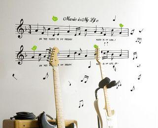 Vinilo Partituras Musicales