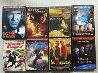 PACK 8 DVDS