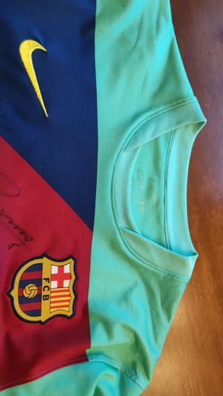 segunda equipación camiseta del Barça