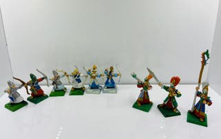 Altos Elfos Warhammer Arqueros metálicos high elf