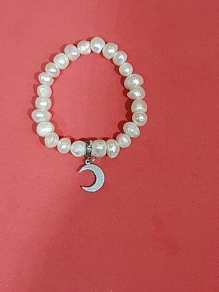 pulsera perlas luna