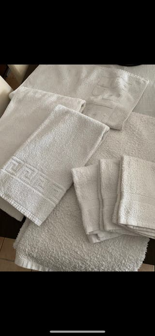 Lote toallas blancas