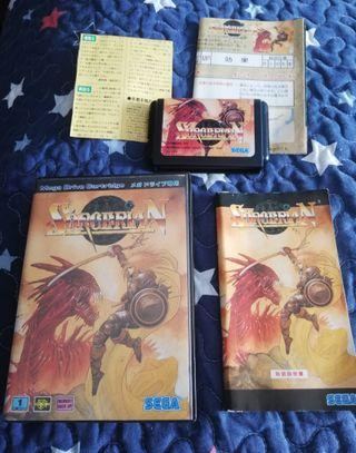 Mega Drive Sorcerian Completo JAP