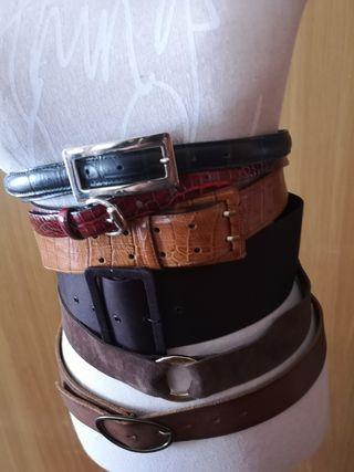 Cinturones piel