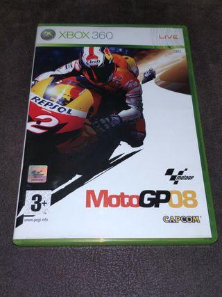 JUEGO XBOX 360, MOTO GP 08