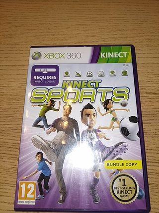 xbox 360 kinect sport