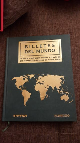 """Álbum """" Billetes del mundo """" EFINSA"""