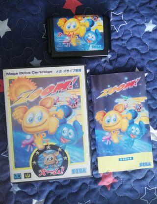 Mega Drive Zoom Completo JAP