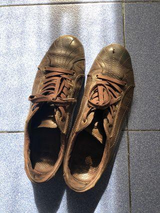 Zapatillas, color marrón, marca Xdye