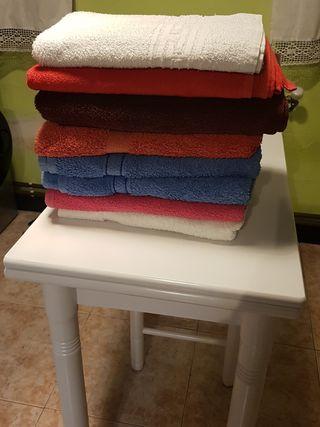 8 toallas de baño
