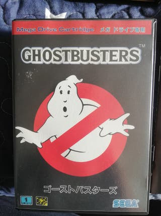 Mega Drive GhostBusters Completo JAP